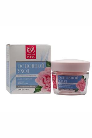 Крем основной уход Роза (50 мл) Крымская Роза