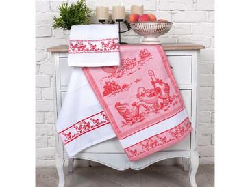 Набор кухонных полотенец (3 шт.) Гуси Toalla