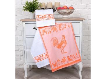 Набор кухонных полотенец (3 шт.) Птичий двор Toalla