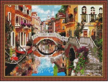 Алмазная мозаика. Мосты Венеции ВанГогВоМне