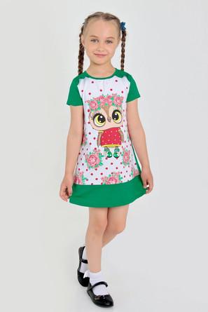Платье Изабелла-2 с шелкографией Ивашка