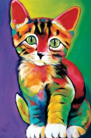 Картина по номерам на подрамнике. Милый котенок Paintboy
