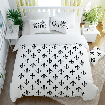 Комплект постельного белья Королевский дуэт Сирень