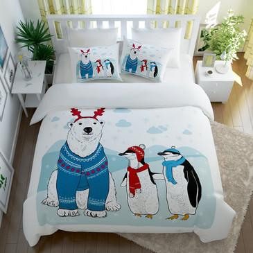 Комплект постельного белья Северная сказка Сирень