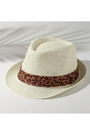 Шляпа Леопард Minaku