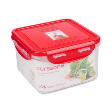 Пластиковый контейнер, 1,25л Oursson