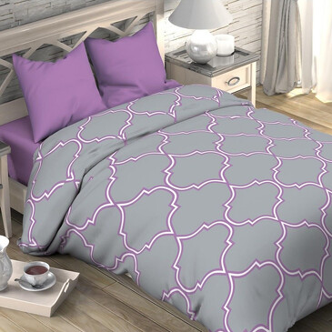 Комплект постельного белья Утро в Марокко, поплин Этель