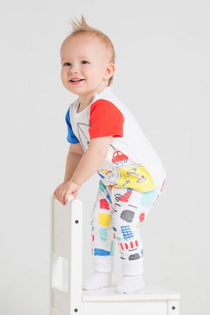 Комплект (футболка и брюки) Детская площадка Crockid