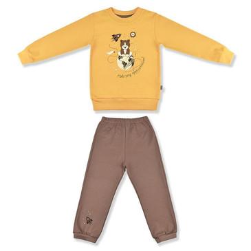 Комплект Приключение (кофточка и штанишки) LEO