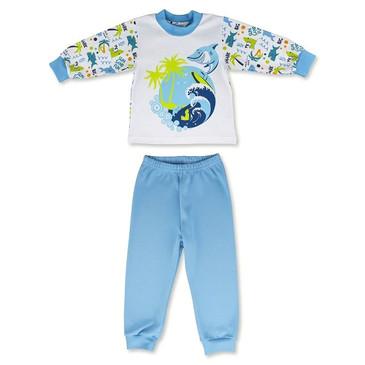 Пижама Акулы (футболка дл. рукав и брюки) LEO