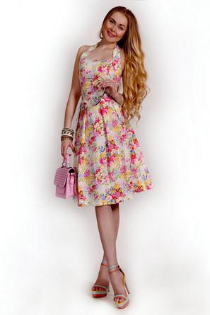 Платье без рукавов Francesca Lucini
