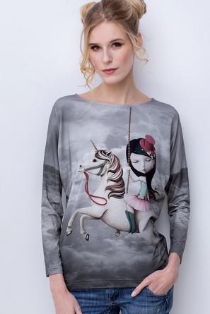 Блузка Unicorno