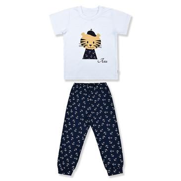 Комплект Тигренок (футболка и штанишки) LEO