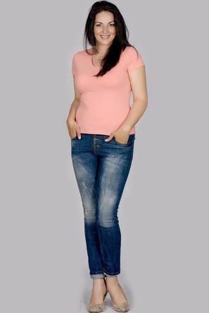 Блузка Дуня Лагуна