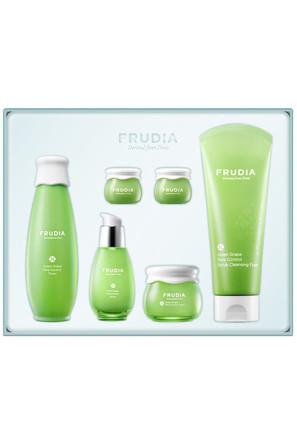 Подарочный набор Увлажнение, себорегуляция и уход за комбинированной кожей лица с зеленым виноградом