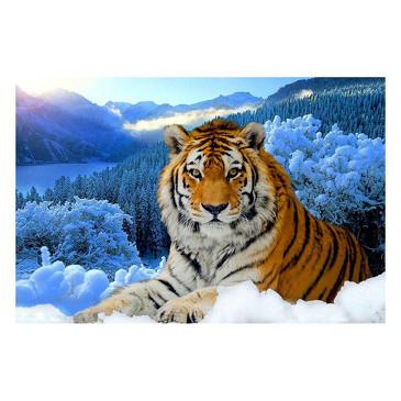 Вышивка крестом. Тигр  Color Kit