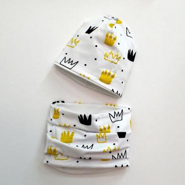Комплект Короны (шапка и снуд) Baby Boom