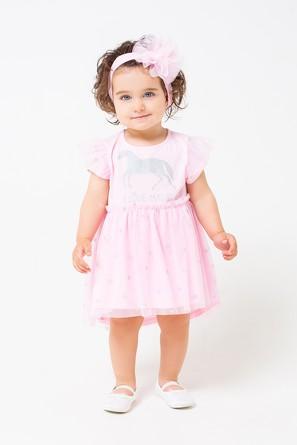 Платье-боди Зебры Crockid