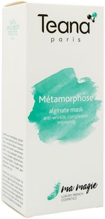 Альгинатная маска Métamorphose омолаживающий эффект, улучшение цвета лица  20 гр., 3 шт Teana
