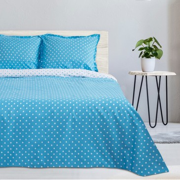 Комплект постельного белья Голубая карамель, поплин Этель
