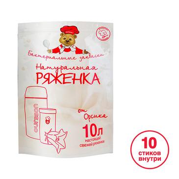 Закваска AiBi для йогуртницы Ряженка, 10 стиков Oursson