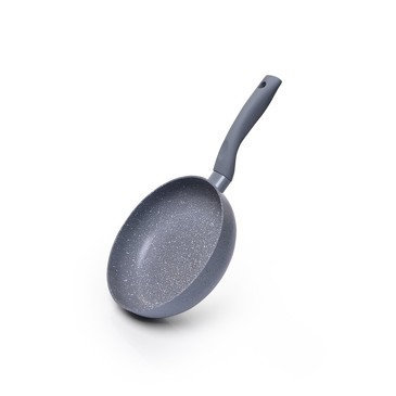 Глубокая сковорода VULCANO 20x5,5см (алюминий с антипригарным покрытием TouchStone) Ручка-бакелит с