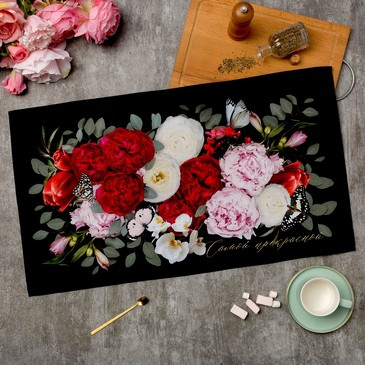Полотенце Flowers Этель