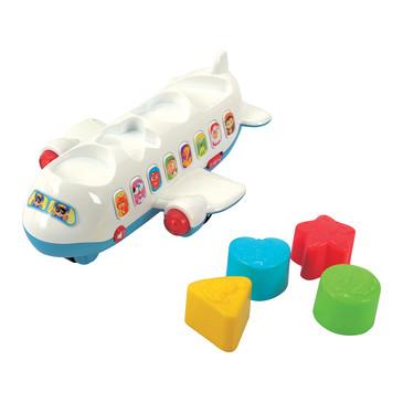 Развив. игрушка Самолет-сортер PlayGo