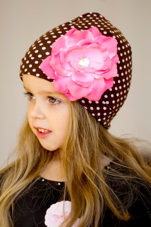 Шапка с розой Viva Girl