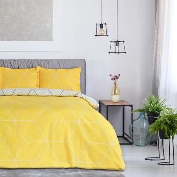 Комплект постельного белья Лимон, сатин Этель