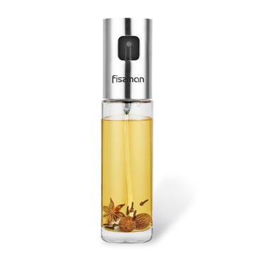 Бутылочка для масла или уксуса 100мл с пульверизатором (стекло) Fissman