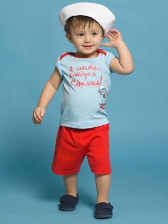 Комплект (футболка и шорты) для мальчиков Pelican