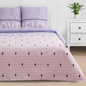 Комплект постельного белья Violet love, бязь Этель