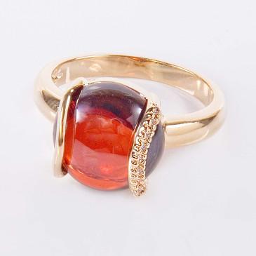 Кольцо с гранатом Элана Lotus jewelry
