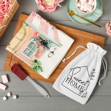 Набор подарочный (полотенце и лопатка) Sweet home Этель