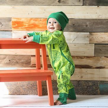 Пижама на кнопках Деревья Bambinizon