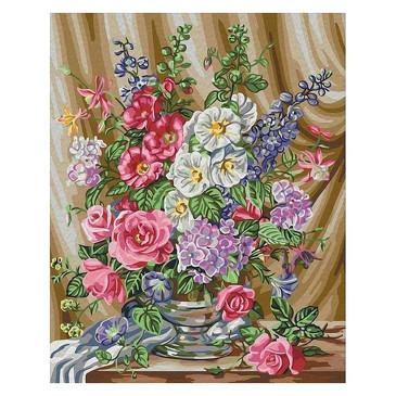 Раскраска по номерам. Розы в цвету Color Kit