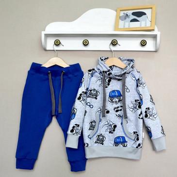 Комплект (джемпер и брюки) Тигры-хипстеры Baby Boom