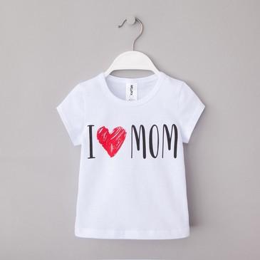 Футболка Love mom Kaftan