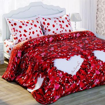 Комплект постельного белья Лепестки роз Любимый дом