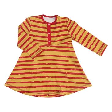 Платье Бордовая полоска Bambinizon