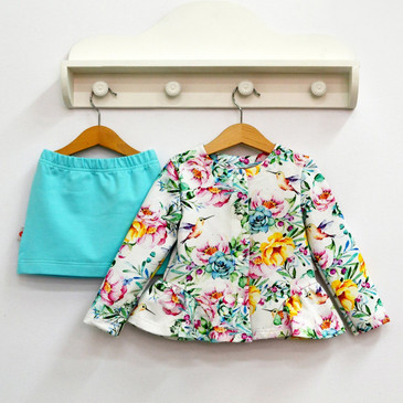 Комплект Колибри (жакет и юбка) Baby Boom
