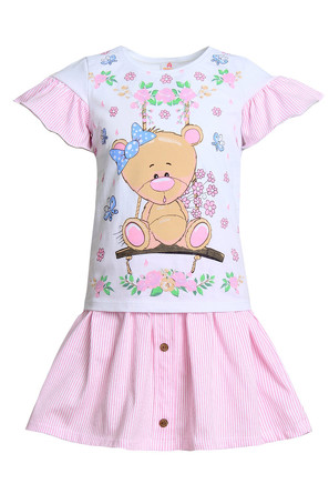 Костюм (футболка и юбка) Одри-1 Ивашка