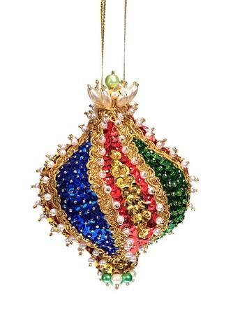 Шар новогодний из пайеток Падишах Волшебная мастерская