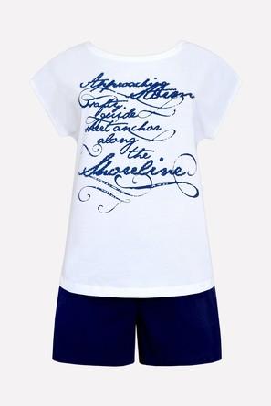 Комплект женский (футболка и шорты) Trikozza