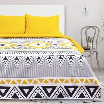 Комплект постельного белья Масаи (вид 2), мако-сатин Этель