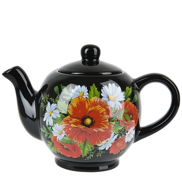 Чайник Маков цвет, 1 л Dolomite
