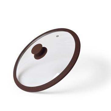 Крышка ARCADES 24см с силиконовым ободком Fissman