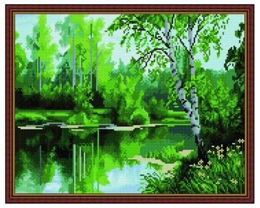 Алмазная мозаика. Природа России ВанГогВоМне