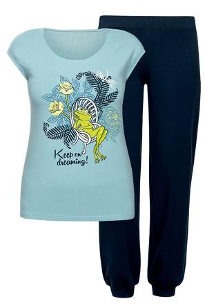 Пижама женская (футболка и брюки) Pelican